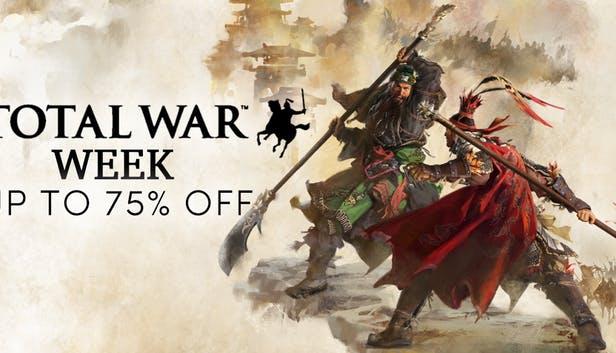 Jusqu'à 75% de réduction sur la série Total War (Dématérialisé)