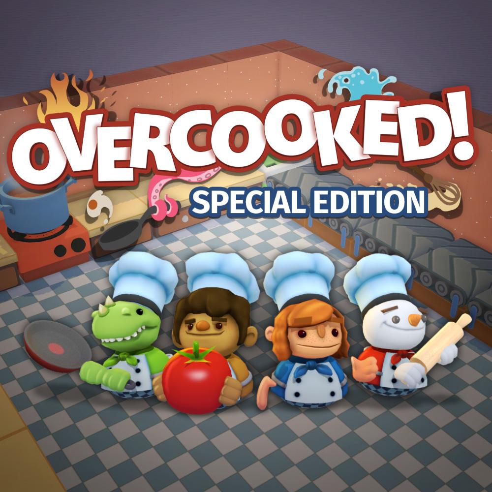Sélection de jeux vidéo sur Switch en promotion (dématérialisés) - Ex : Overcooked - Édition Spéciale