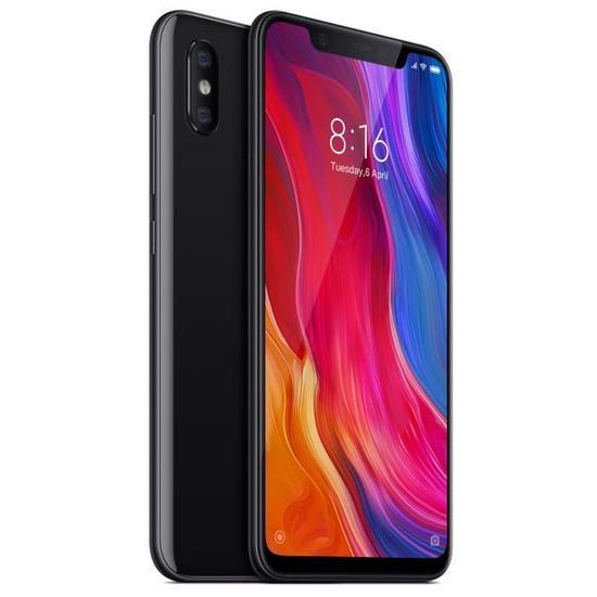 """Smartphone 6.21"""" Xiaomi Mi 8 - 6 Go de RAM, 128 Go - Noir (via ODR de 50€)"""