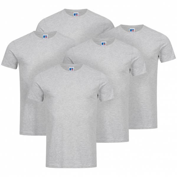 Lot de 5 T-shirts à 9,99€  - 93% coton - Tailles du S au 2XL