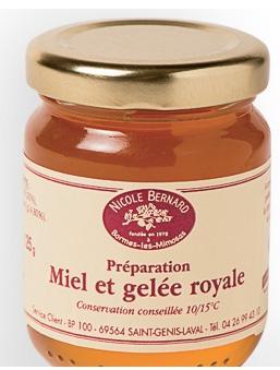 Miel et gelée Royales (+ Bloc de foie gras de canard au Banyuls offert et livraison gratuite)