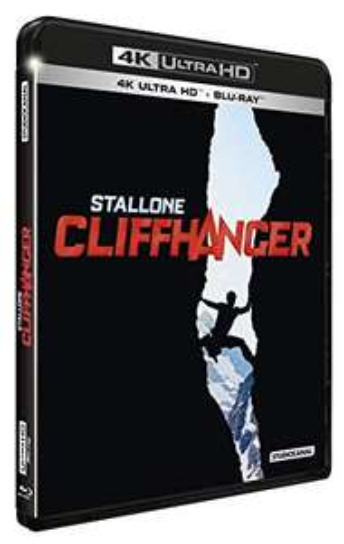 Sélection de Blu-Ray 4k en promotion - Ex : Cliffhanger à 14,99