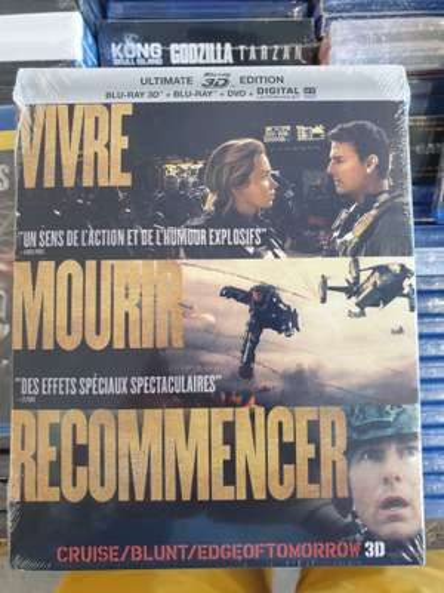 Film Edge of Tomorrow : Ultimate édition (Blu-Ray 3D + Blu-Ray + DVD) - Sélestat (67)