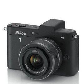 Appareil photo NIKON 1 V1 NOIR + 10-30mm - Reconditionné