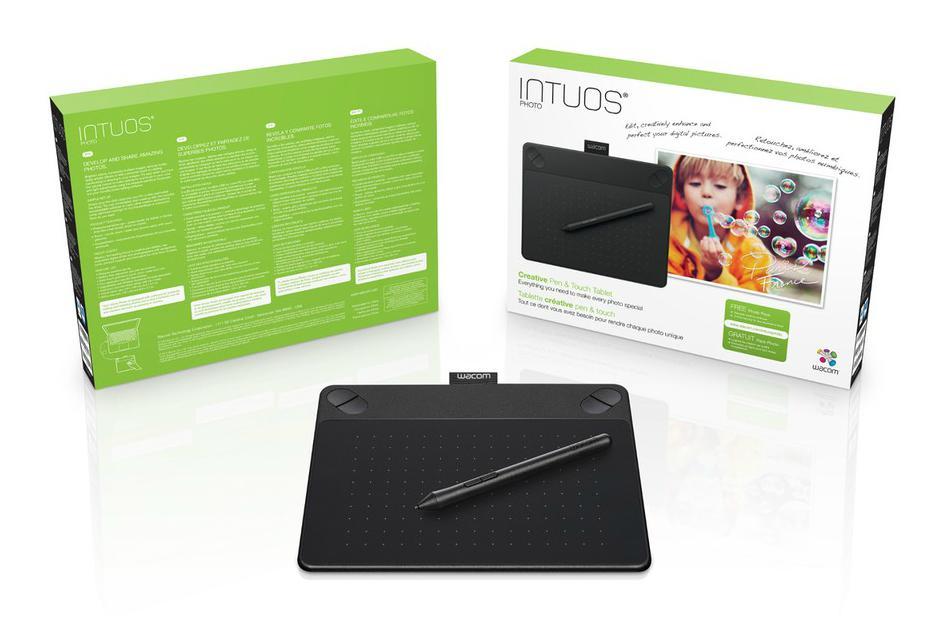 Tablette graphique Intuos Photo Pen & Touch S - Noir (ODR de 15€)
