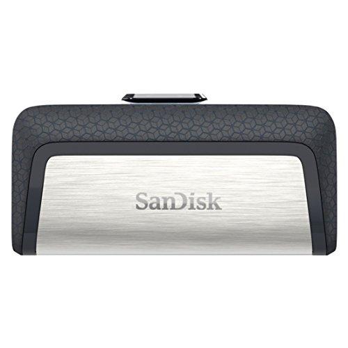 Clé USB 3.1 Sandisk Ultra SDDDC2-128G-G46 - 128Go, Type-C à Double Connectique (Vendeur Tiers)
