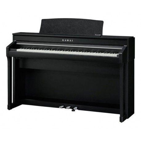 Piano numérique Kawai CA78 - Noir satiné, Bluetooth