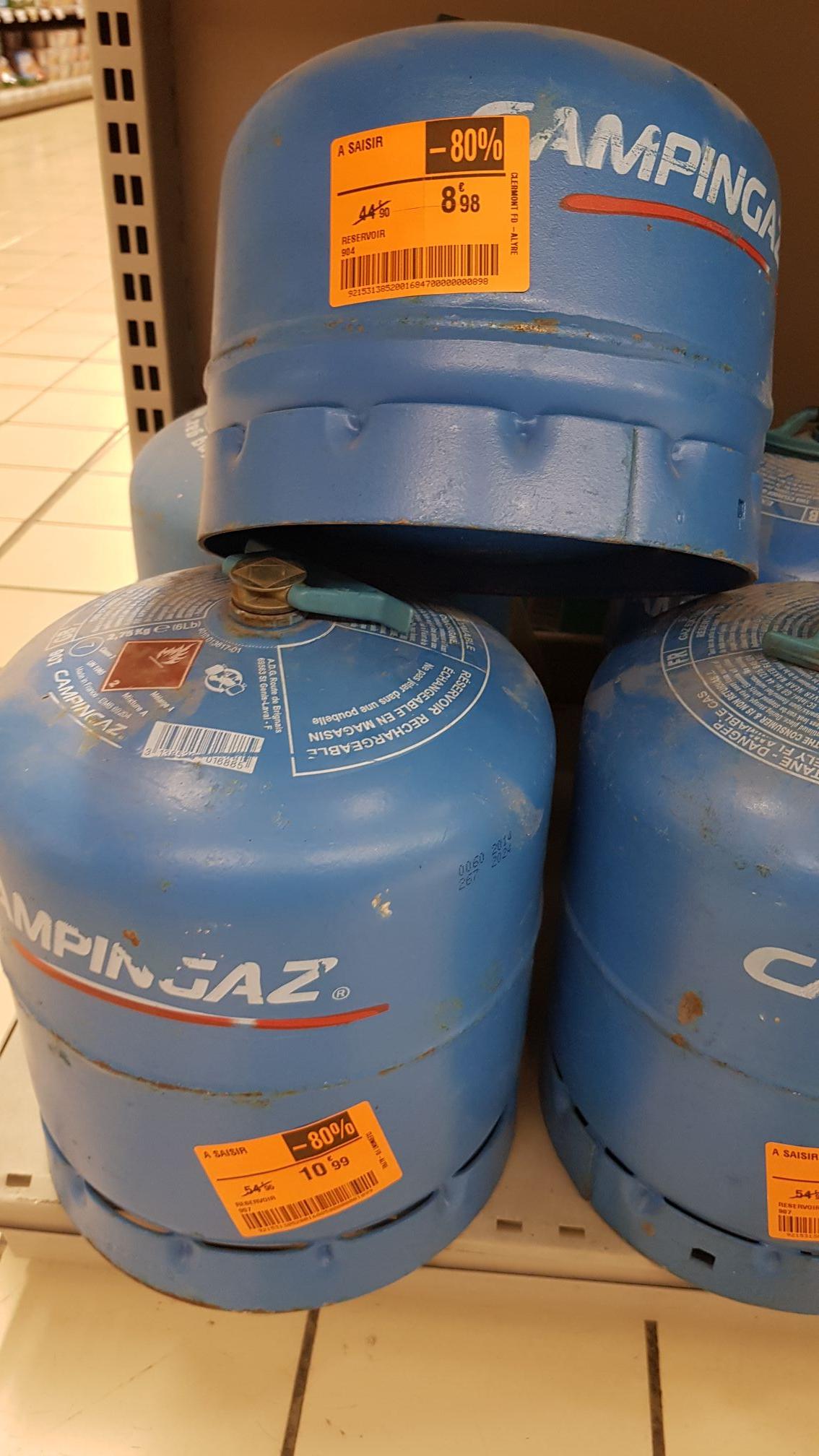 Bouteilles de gaz Campingaz R904 ou R907 - Clermont-Ferrand (63)