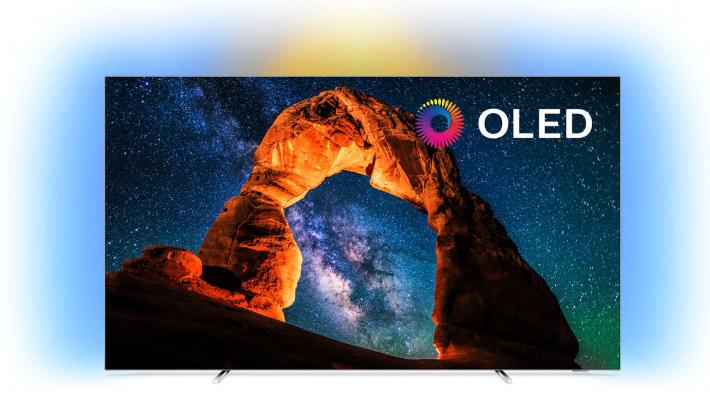 """TV OLED 55"""" Philips 55OLED803 - 4K UHD, Amblight, Smart TV"""