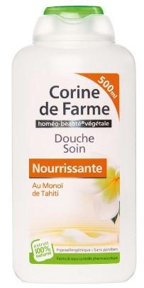 Gel douche soin Corine de Farme - 500ml, Plusieurs variétés (via 1.39€ sur la carte de fidélité)