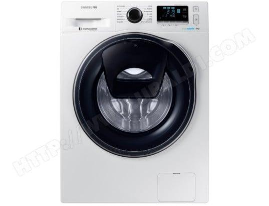 Lave-linge Connecté Samsung WW90K6414QW AddWash & Eco Bubble A+++ - 9Kg (Via ODR 70€)