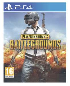 PlayerUnknown's Battlegrounds (PUBG) sur PS4