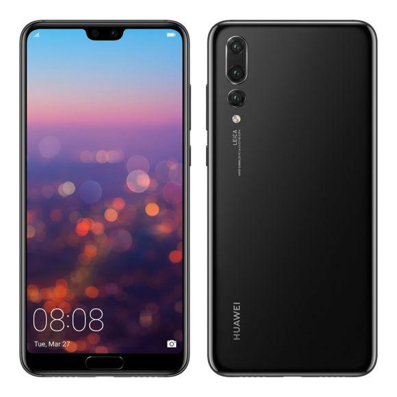 """Smartphone 6.1"""" Huawei P20 Pro - Full HD, Kirin 970, RAM 6Go, 128Go (Dépackagé, Testé & Approuvé)"""