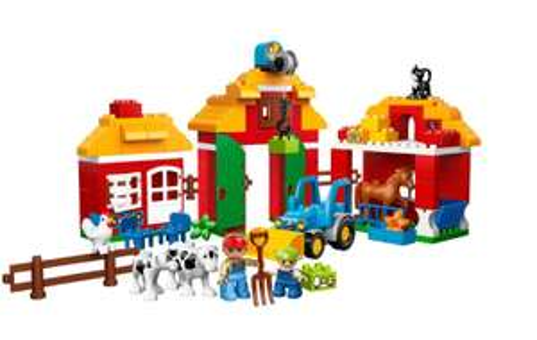 Jeu De Construction Lego Duplo Legoville 10525 - La Grande Ferme
