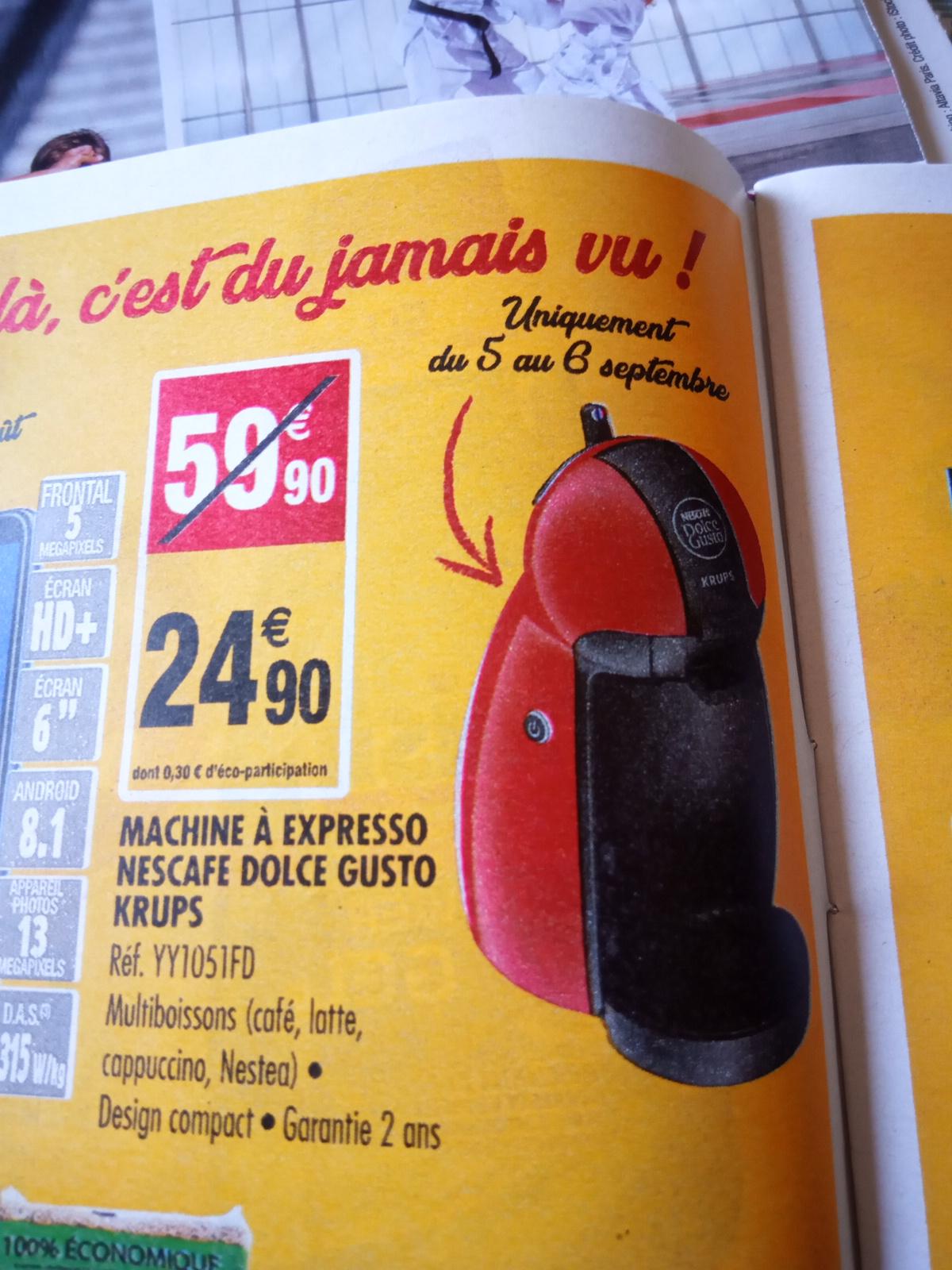 Machine à café Expresso Krups Nescafé Dolce Gusto Piccolo YY1051FD - Rouge