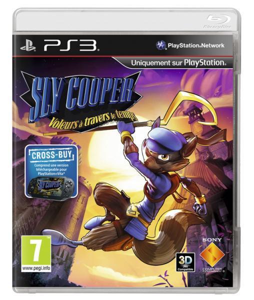 [Préco] Sly Cooper : Voleurs à travers le temps (PS3) à 26.99€ , PS Vita à 22.85€ (Bien lire la description du deal) / Paiement via Buyster