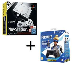 Console Sony PlayStation Classic + Manette PS4 Dual Shock au choix