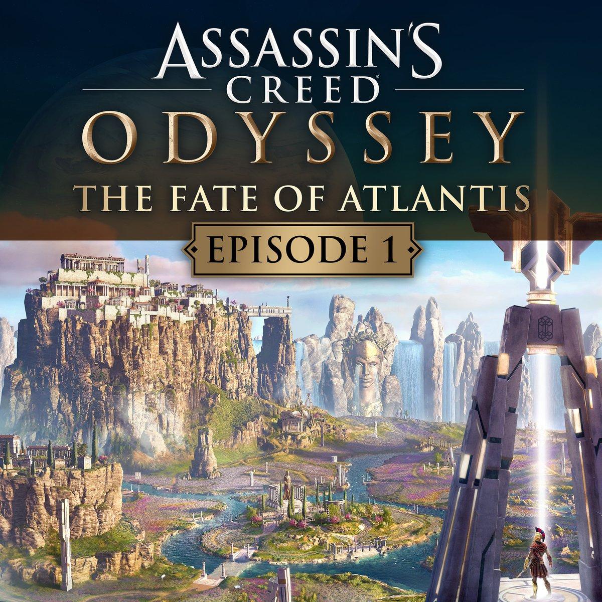 DLC Assassin's Creed Odyssey – Le sort de l'Atlantide Épisode 1 Gratuit sur PS4/Xbox One et PC