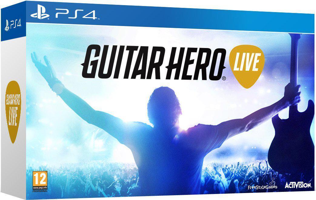 Guitar Hero Live + Guitare sur Xbox One ou PS4