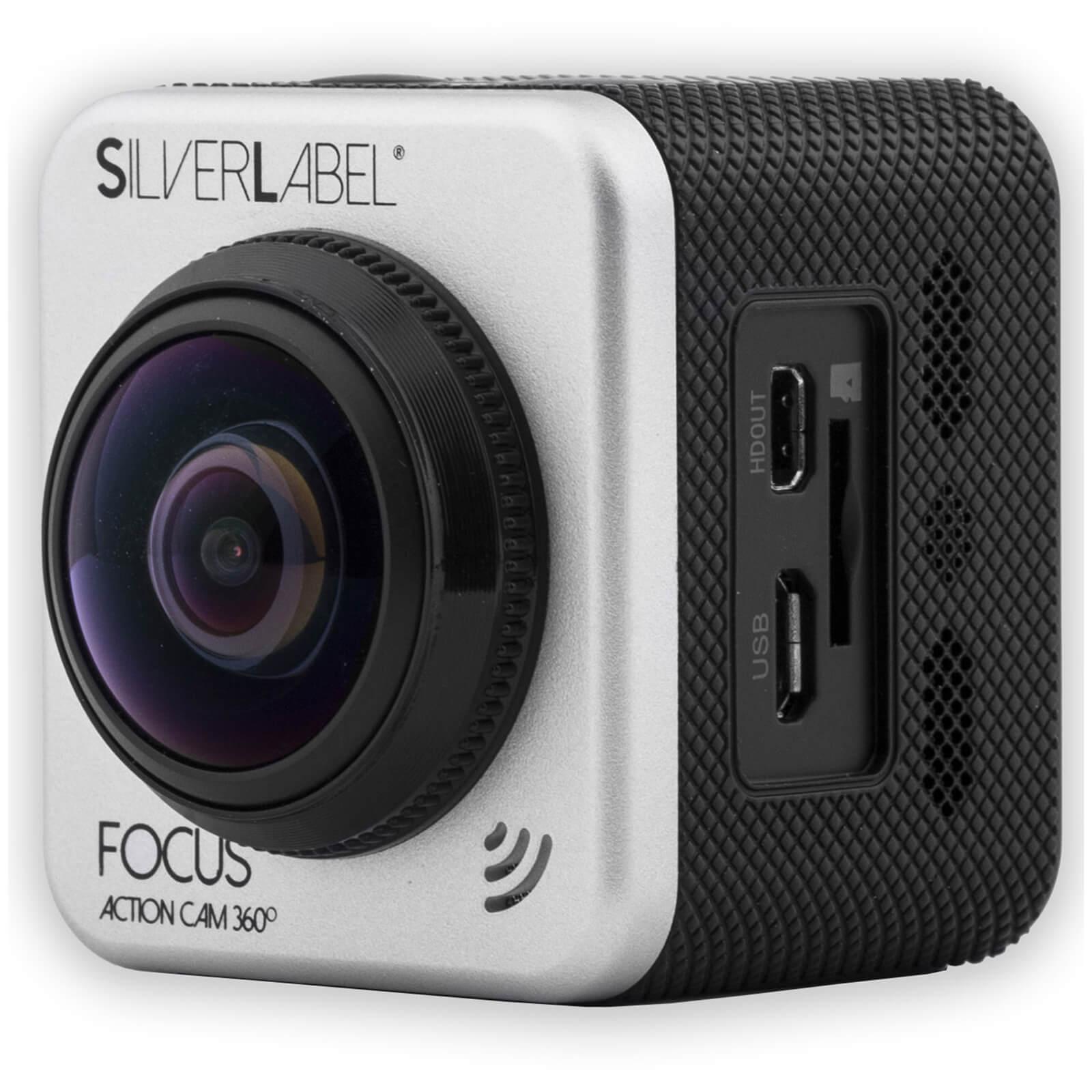 Caméra Sportive Silverlabel Focus Action Camera 360 - 1080p, + batterie supplémentaire (probikekit.co.uk)