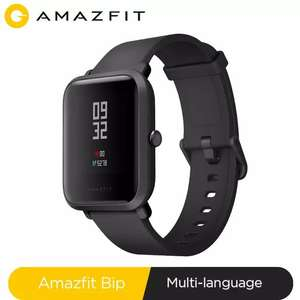 Montre Connectée Xiaomi Huami Amazfit Bip (Via Coupon - 41,66€ via PayPal)
