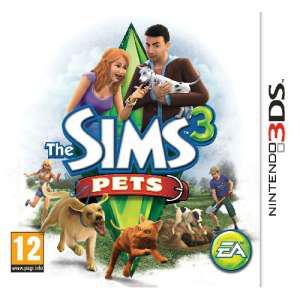 les sims 3 pets 3DS