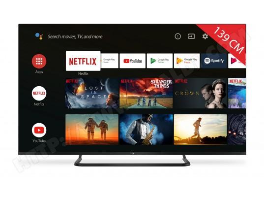 "TV LED 55"" TCL 55EP682 - 4K UHD, DOLBY VISION, Android TV (via ODR de 100€)"