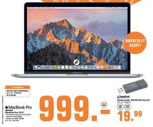 """PC Portable 13.3"""" Apple Macbook Pro 13 (MPXQ2FN/A) - AZERTY, Core i5, 128 Go, 8Go RAM (Frontaliers Luxembourg)"""