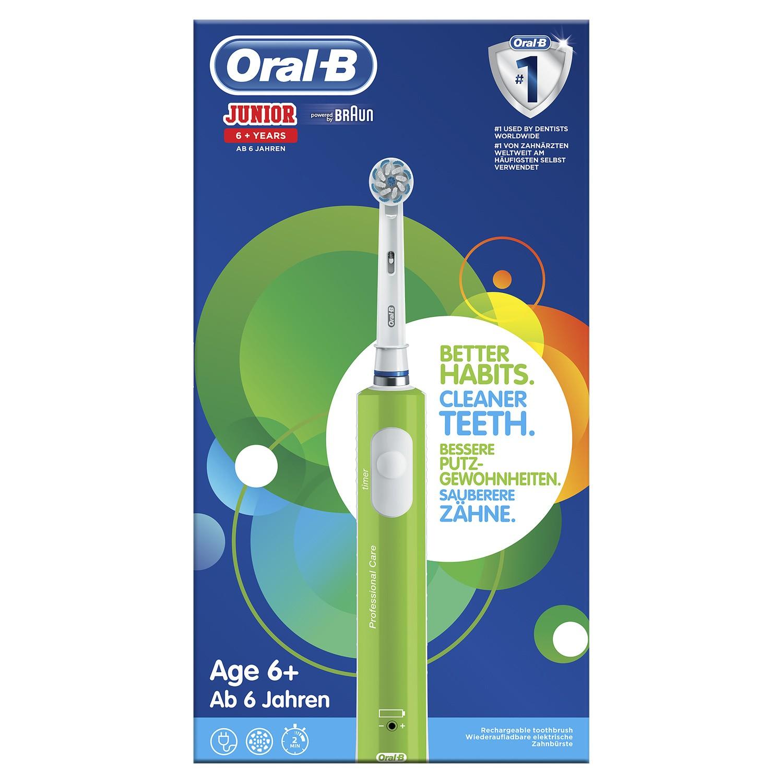 Brosse à dent électrique Oral-B Junior (via 16.77€ sur la carte de fidélité + ODR de 5€ + Shopmium)