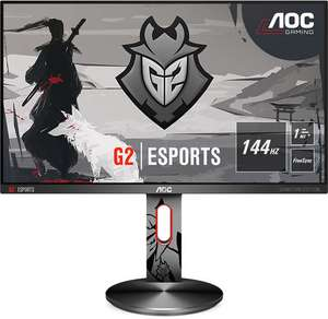 "Ecran PC 24.5"" AOC Gaming G2590PX G2 - FreeSync, 144Hz, 1Ms, TN, HP intégrés, Hub USB 3.0"