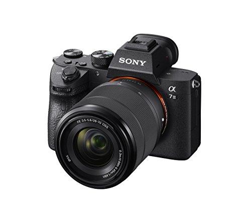 Appareil Photo Hybride Sony Alpha A7 III, Plein Format + Objectif 28-70 mm
