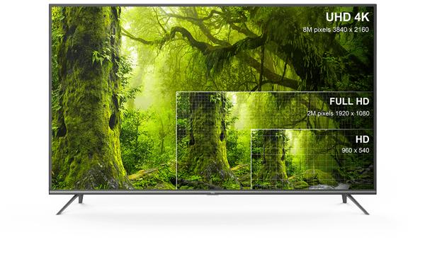 """TV LED 75"""" TCL 75EP661 - 4K UHD, HDR, Smart TV"""