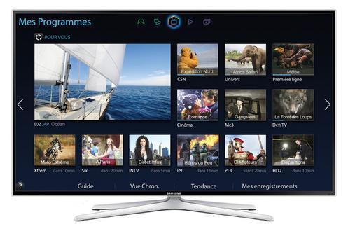 """TV 40"""" Samsung UE40H6400 Smart TV Full HD 3D (lunettes et télécommande tactile supplémentaire incluses)"""