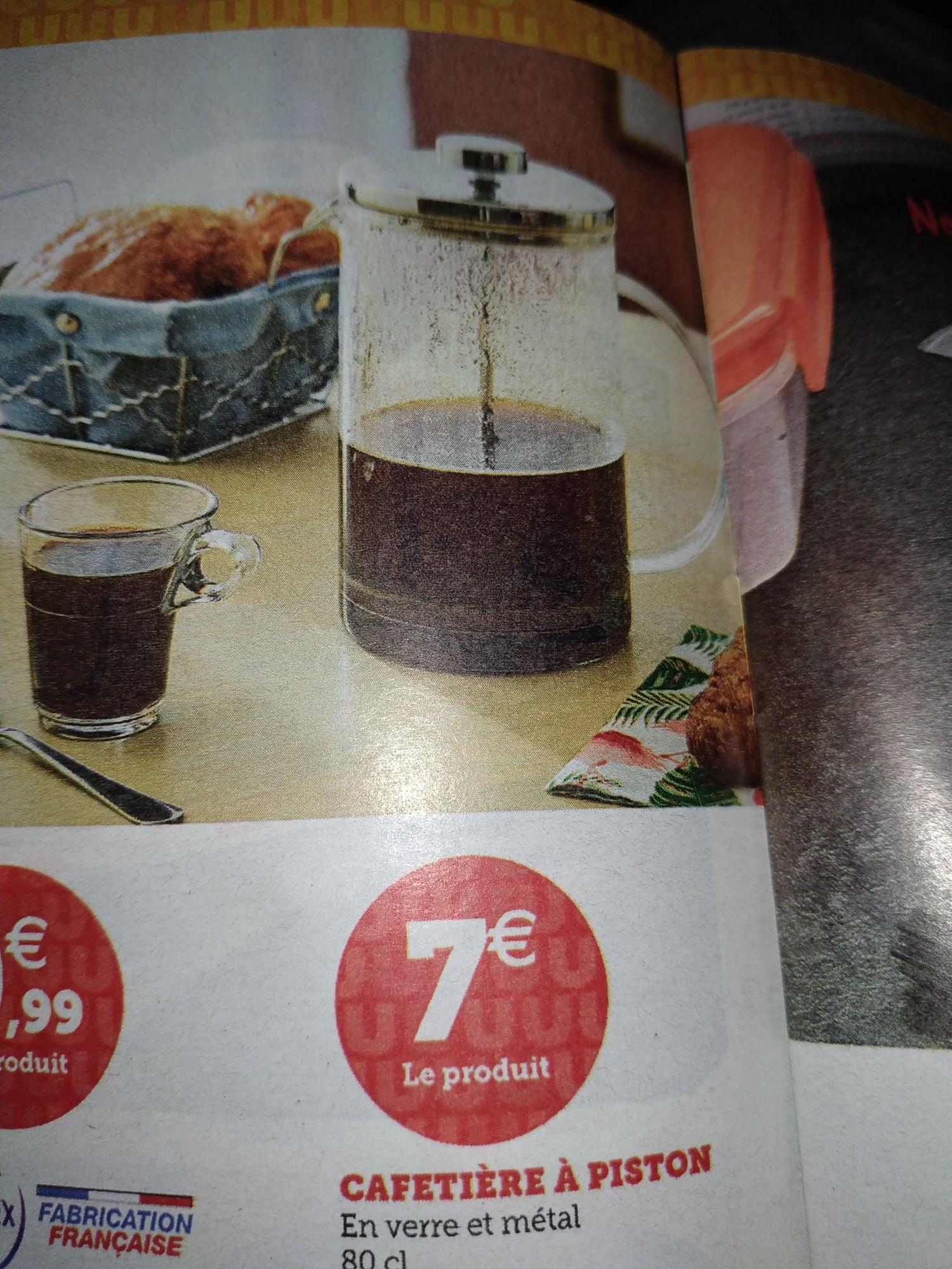 Cafetière à piston - 0.8L