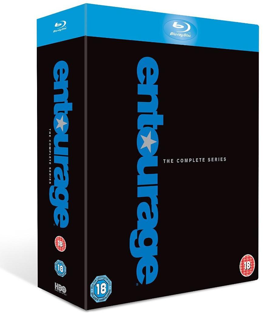 Coffret Blu-ray Intégrale Entourage - 8 saisons (VF/STF)