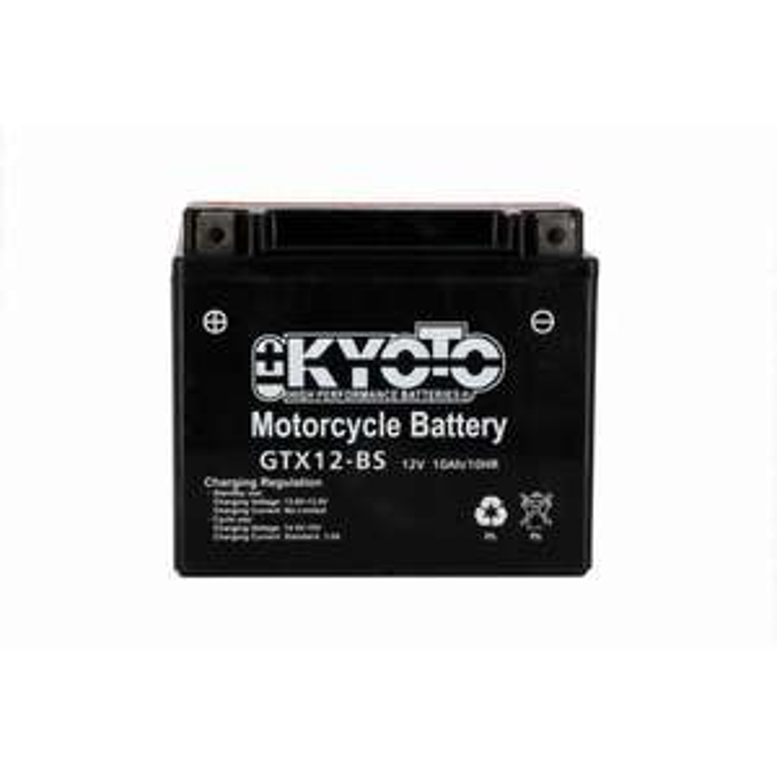 Batterie pour moto Kyoto GTX12-BS