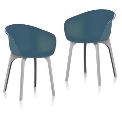 Lot de 2 Chaises de jardin Idea Diva Teal