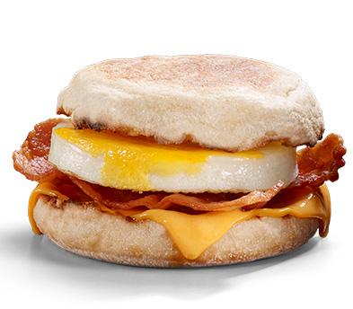 [De 7h à 10h] Bacon MacMuffin & Egg gratuit (Via l'Application - Frontaliers Belgique)