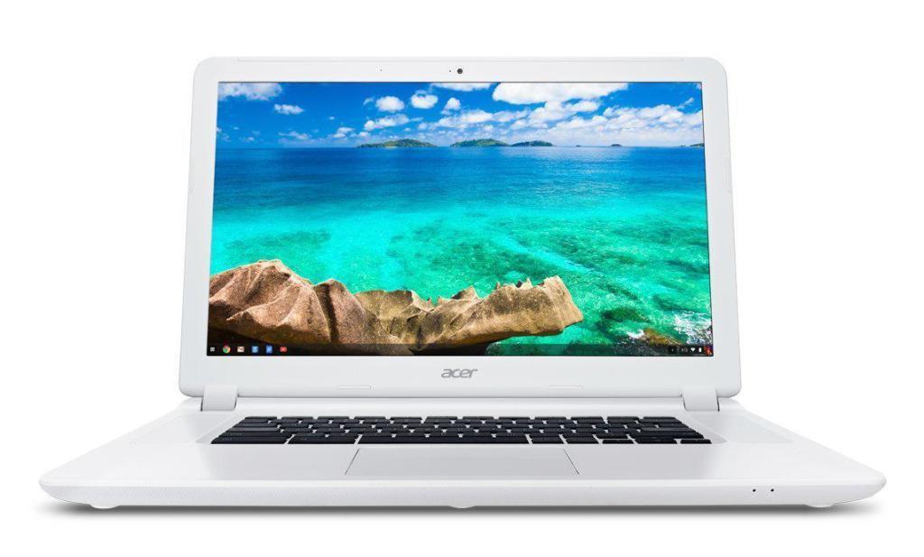 """PC Portable 15"""" Acer Chromebook CB5-571-32AS - Intel i3-5005U, 4 Go de RAM, 32 Go SSD, Chrome OS"""