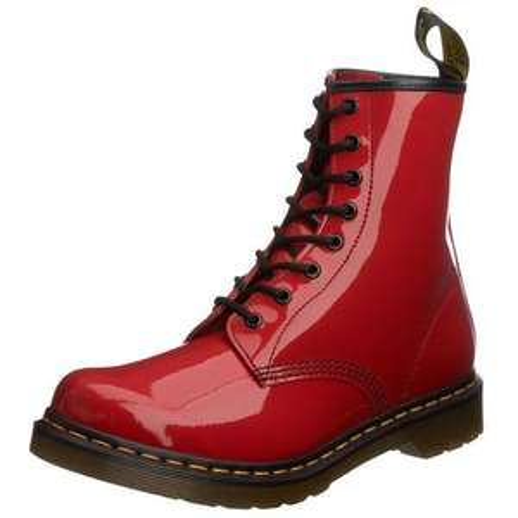 Boots femme Dr. Martens 1460 W - Rouge