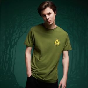 Sélection de T-shirts Zelda en promotion - Ex: T-Shirt Legend Of Zelda Brodé Triforce - Vert