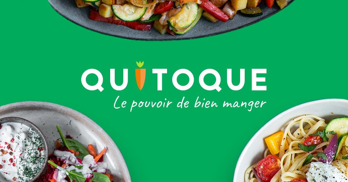 Concours 100% gagnant Quitoque - Ex : 10% de réduction dès 59€ d'achats + livraison gratuite