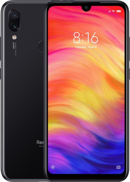 "Smartphone 6.3"" Xiaomi Redmi Note 7 - full HD+, SnapDragon 660, 4 Go de RAM, 64 Go, noir"