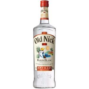 Bouteille de Rhum Blanc des Antilles Old Nick - 1 L (via 3.45€ sur la carte de fidélité)
