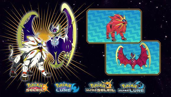 Pokemon Solgaleo chromatique ou Lunala chromatique Gratuit en magasin