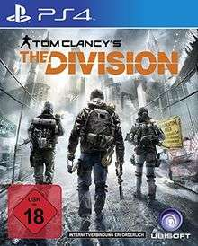 Tom Clancy's The Division sur PS4 - Occasion (Import Allemand)