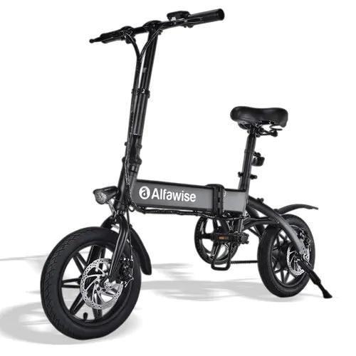Vélo électrique pliant Adulte Alfawise X1 (Frais de douane et TVA inclus - Vendeur tiers)