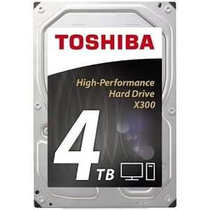 "Disque dur interne 3.5"" Toshiba X300 Bulk - 4 To 7200rpm 128mo"