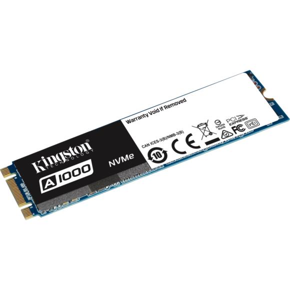 SSD Interne NVMe Kingston A1000 - 240 Go, M.2 (type 2280)