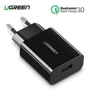 Chargeur USB UGreen - 18W, Quick Charge C 3.0